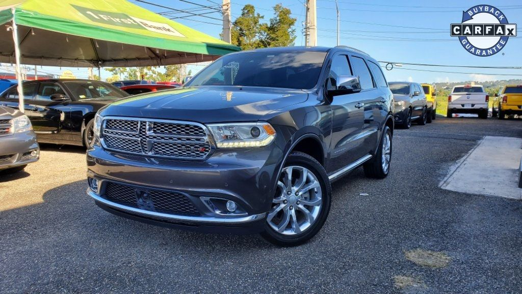 Dodge Durango Citadel >> 2018 New Dodge Durango Citadel At Triangle Chrysler Jeep Dodge Fiat