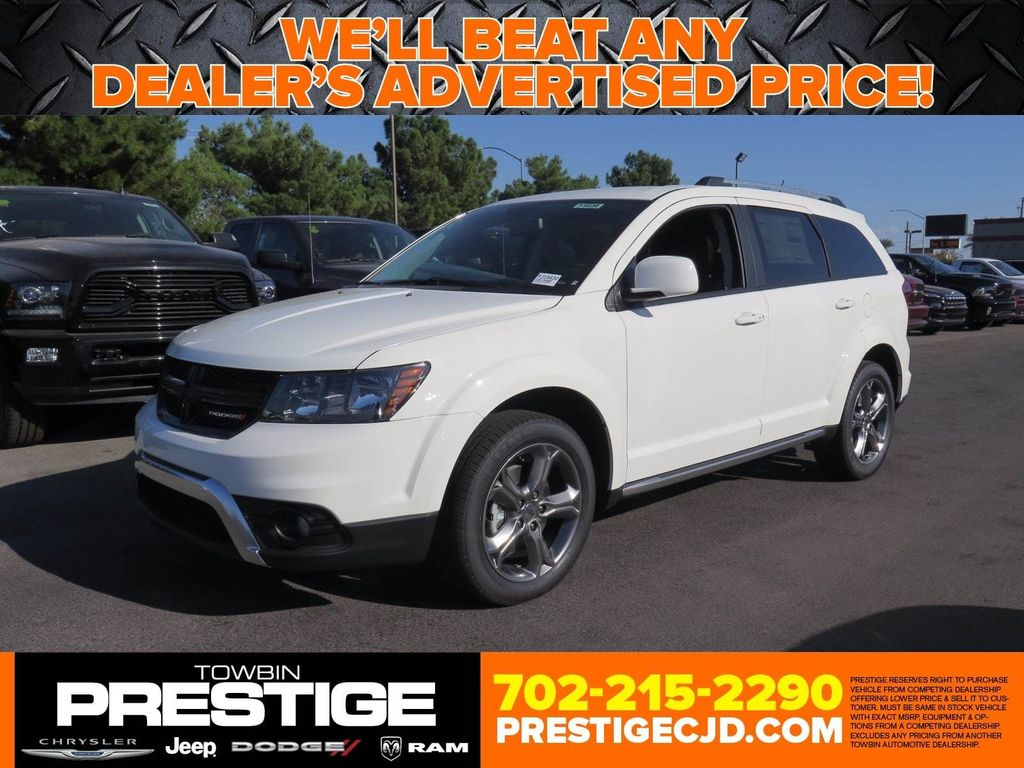2018 Dodge Journey Crossroad FWD - 16912118 - 0
