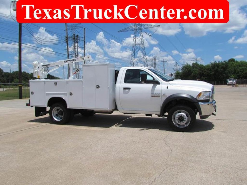 2018 Dodge Ram 5500 Mechanics Service Truck 4x4 - 17474578 - 1