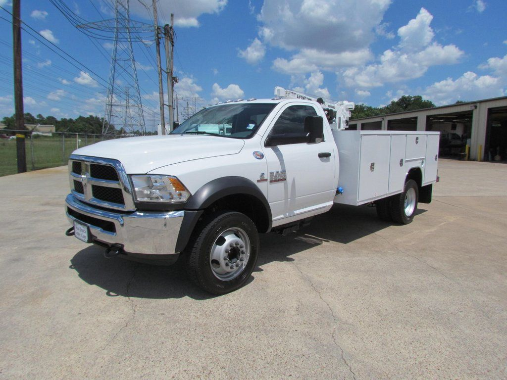 2018 Dodge Ram 5500 Mechanics Service Truck 4x4 - 17474578 - 4