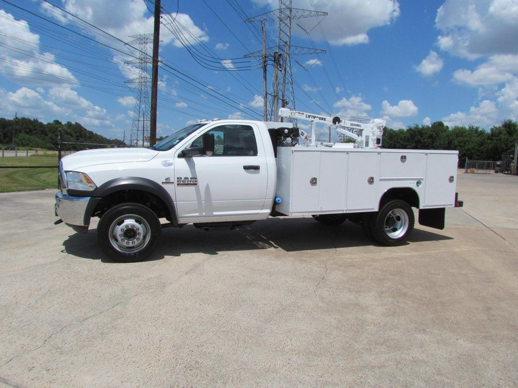 2018 Dodge Ram 5500 Mechanics Service Truck 4x4 - 17474578 - 5