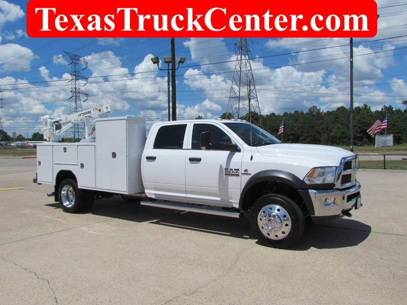 2018 Dodge Ram 5500 Mechanics Service Truck 4x4 - 17982462 - 1