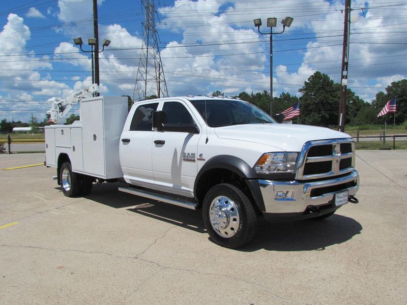 2018 Dodge Ram 5500 Mechanics Service Truck 4x4 - 17982462 - 2