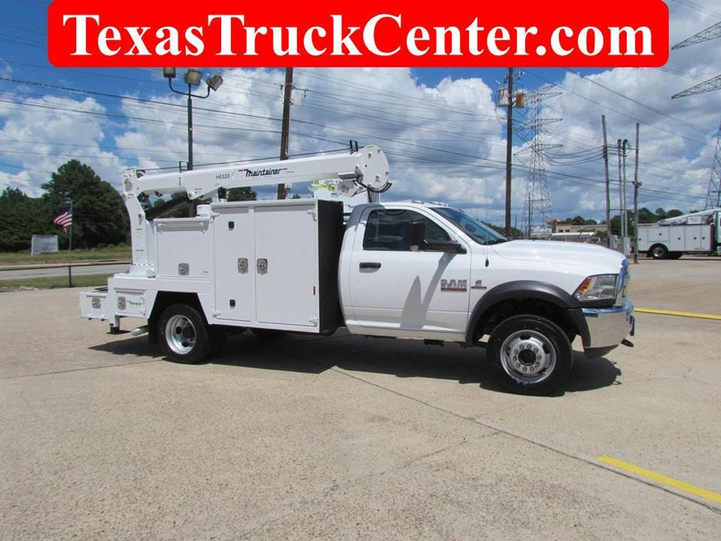 2018 Dodge Ram 5500 Mechanics Service Truck 4x4 - 17985665 - 1