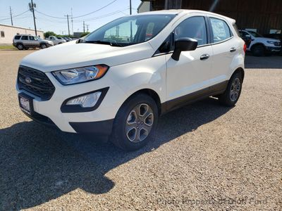 New 2018 Ford EcoSport S FWD SUV