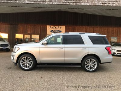 New 2018 Ford Expedition Limited 4x2 SUV