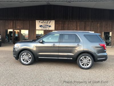 New 2018 Ford Explorer Limited FWD SUV