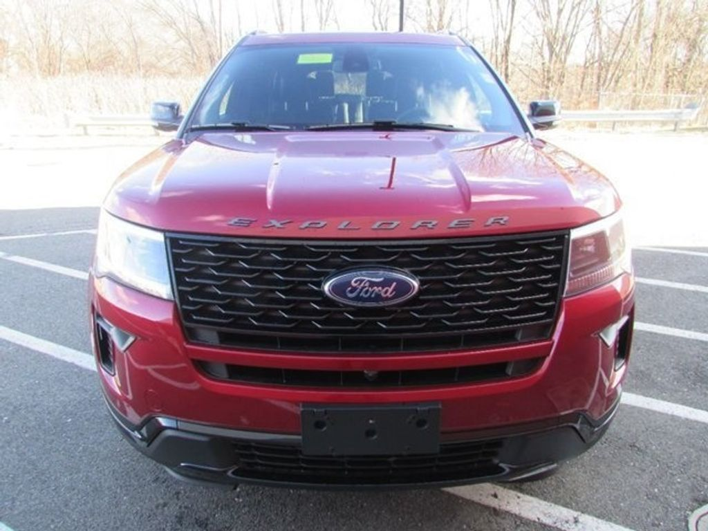 2018 Ford Explorer Sport 4WD - 17114652 - 19