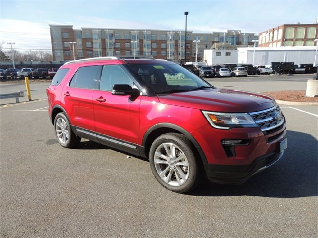 2018 New Ford Explorer Xlt 4wd At Watertown Ford Serving Boston Ma