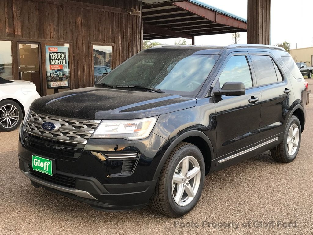 New Ford Explorer >> 2018 New Ford Explorer Xlt Fwd At Gloff Ford Serving Clifton Tx Iid 17743077