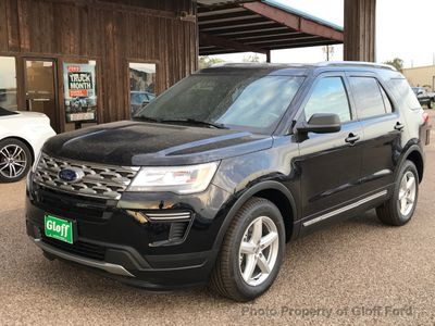 New 2018 Ford Explorer XLT FWD SUV