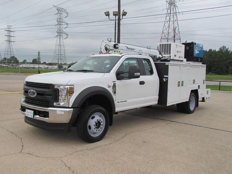 2018 Ford F550 Mechanics Service Truck 4x4 - 17985678 - 4