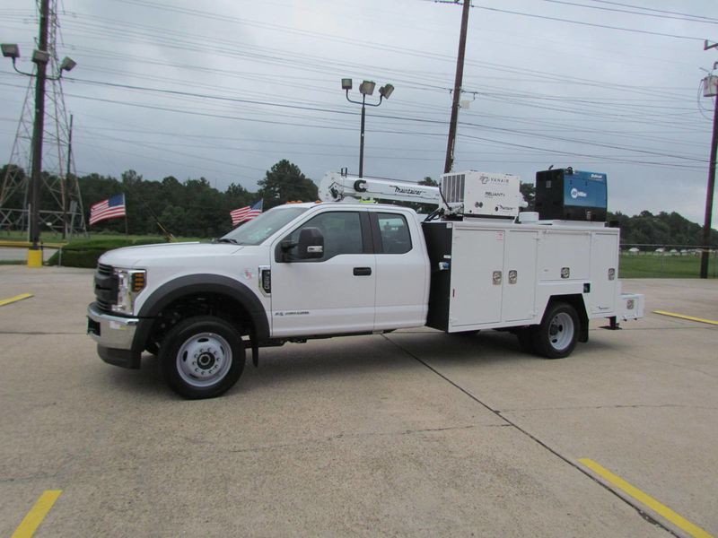 2018 Ford F550 Mechanics Service Truck 4x4 - 17985678 - 5