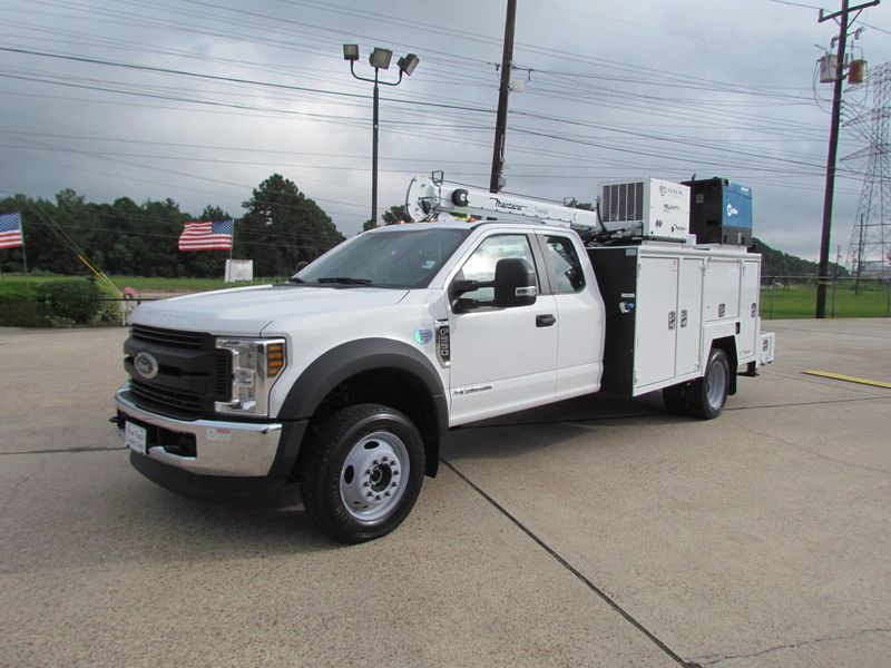 2018 Ford F550 Mechanics Service Truck 4x4 - 17994624 - 4
