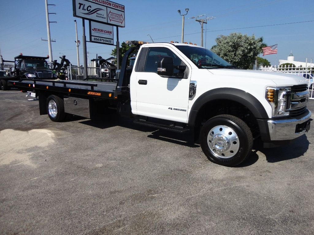 F550 Towing Capacity >> 2018 New Ford F550 XLT PLUS. 20FT JERRDAN ROLLBACK TOW ...