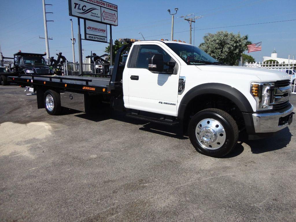2018 ford f550 xlt plus 20ft jerrdan rollback tow truck 20srr6t lpw