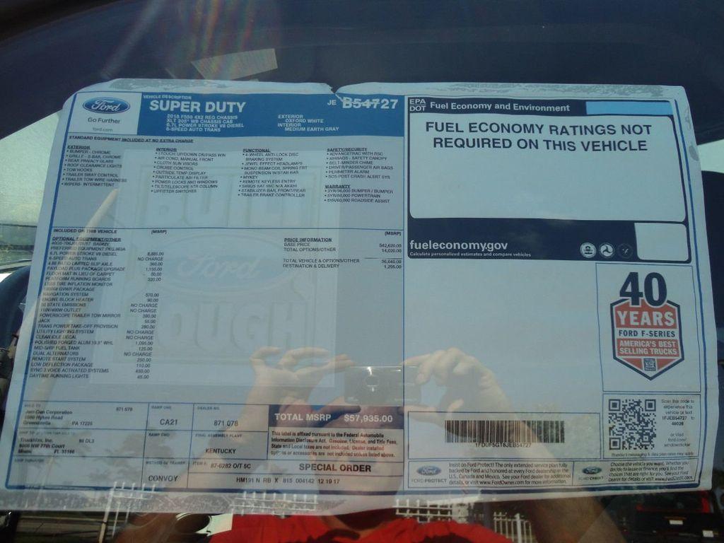 2018 Ford F550 XLT PLUS. 20FT JERRDAN ROLLBACK TOW TRUCK..20SRR6T-LPW - 17882329 - 40