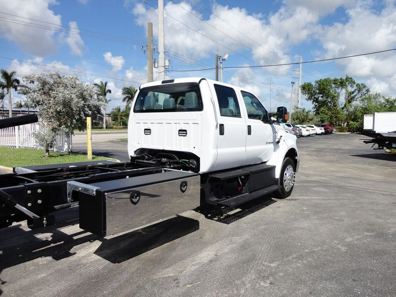2018 Ford F650 CREW CAB..22FT XLP-6  JERRDAN ROLL-BACK SHARK.AIR RIDE. - 16917107 - 9