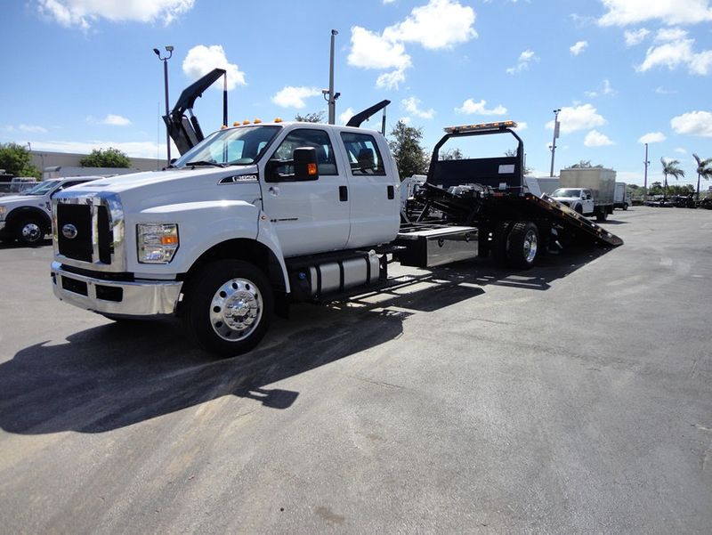 2018 Ford F650 CREW CAB..22FT XLP-6  JERRDAN ROLL-BACK SHARK.AIR RIDE. - 16917107 - 1