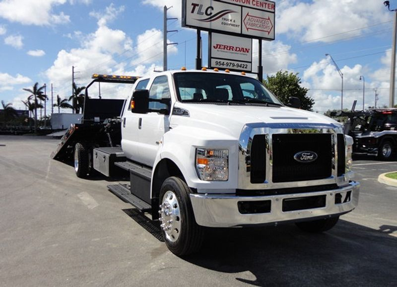 2018 Ford F650 CREW CAB..22FT XLP-6  JERRDAN ROLL-BACK SHARK.AIR RIDE. - 16917107 - 22