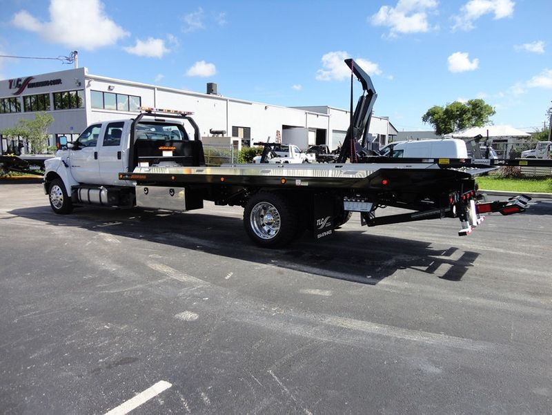 2018 Ford F650 CREW CAB..22FT XLP-6  JERRDAN ROLL-BACK SHARK.AIR RIDE. - 16917107 - 26