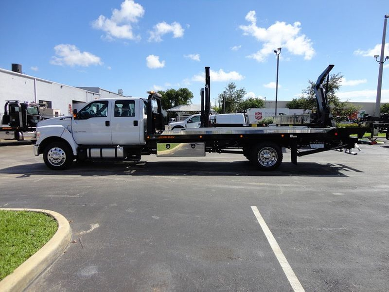 2018 Ford F650 CREW CAB..22FT XLP-6  JERRDAN ROLL-BACK SHARK.AIR RIDE. - 16917107 - 27