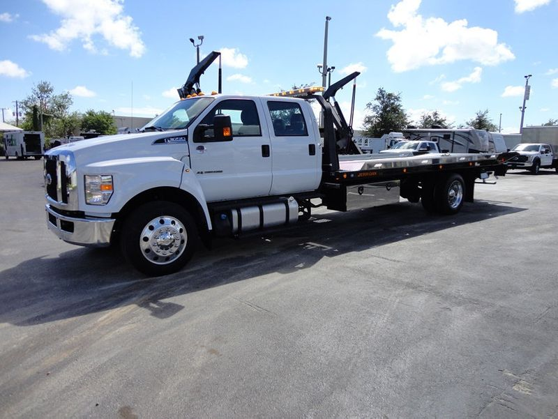 2018 Ford F650 CREW CAB..22FT XLP-6  JERRDAN ROLL-BACK SHARK.AIR RIDE. - 16917107 - 28