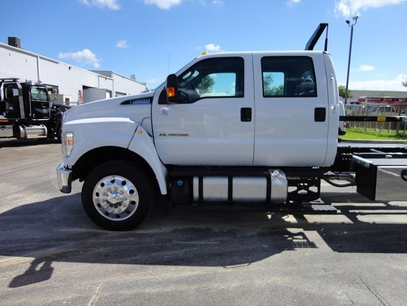 2018 Ford F650 CREW CAB..22FT XLP-6  JERRDAN ROLL-BACK SHARK.AIR RIDE. - 16917107 - 3