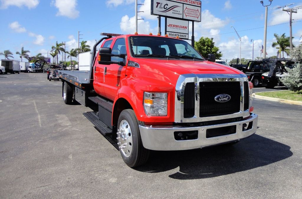 2018 Ford F650 CREW CAB..22FT XLP-6 JERRDAN ROLL-BACK SHARK.AIR RIDE. - 17637495 - 9