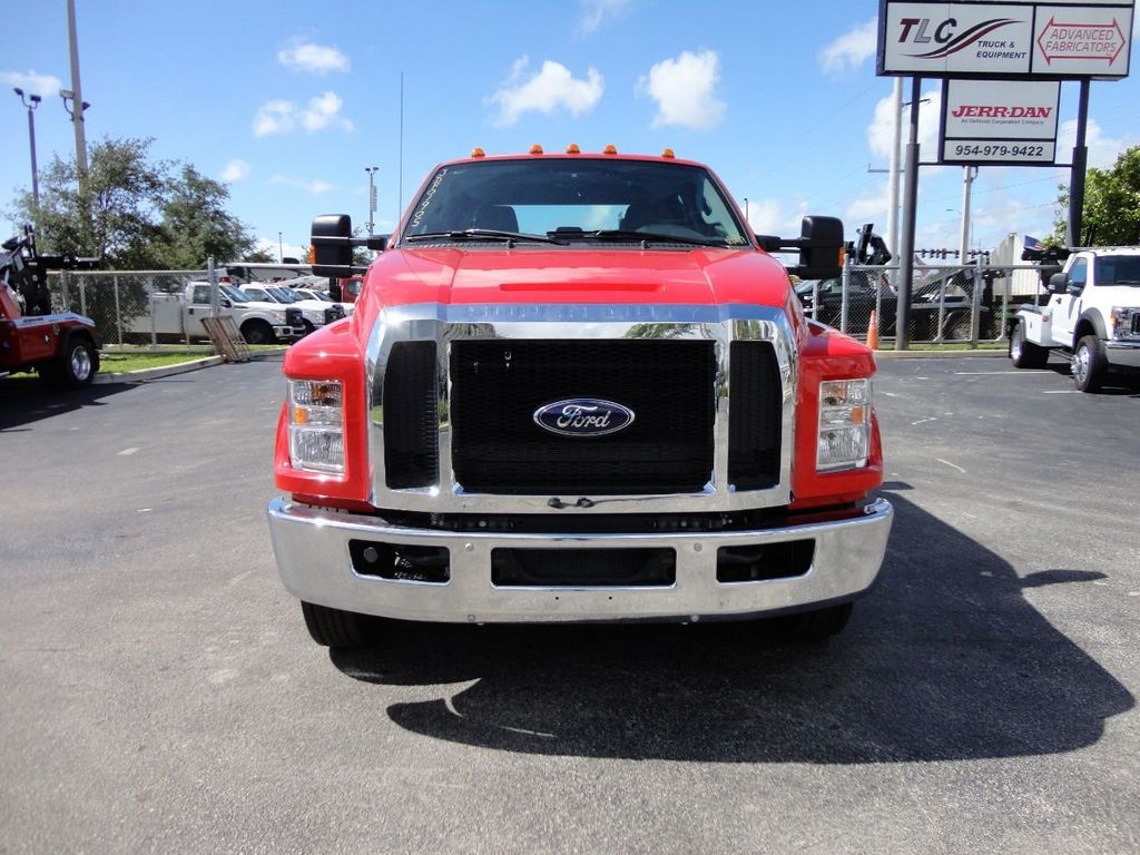 2018 Ford F650 CREW CAB..22FT XLP-6 JERRDAN ROLL-BACK SHARK.AIR RIDE. - 17637495 - 10