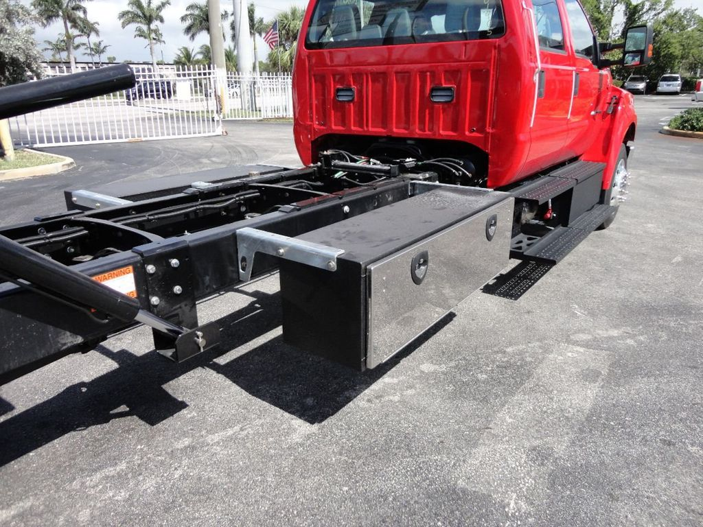 2018 Ford F650 CREW CAB..22FT XLP-6 JERRDAN ROLL-BACK SHARK.AIR RIDE. - 17637495 - 16
