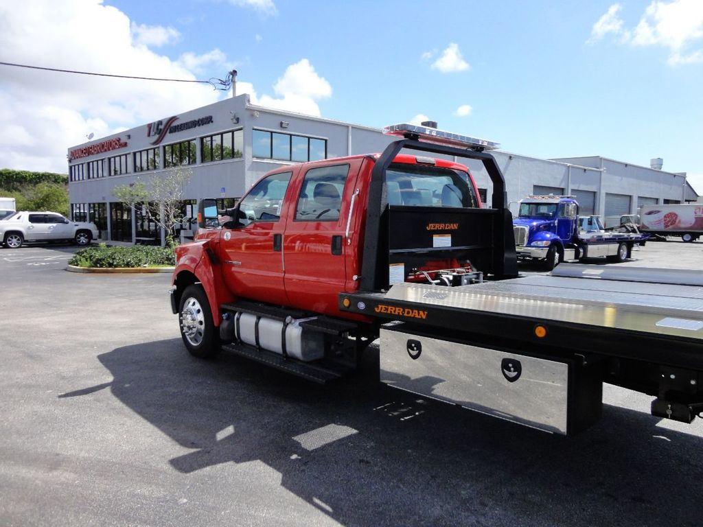 2018 Ford F650 CREW CAB..22FT XLP-6 JERRDAN ROLL-BACK SHARK.AIR RIDE. - 17637495 - 37