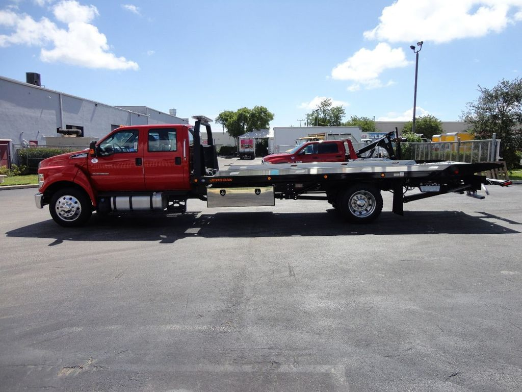 2018 Ford F650 CREW CAB..22FT XLP-6 JERRDAN ROLL-BACK SHARK.AIR RIDE. - 17637495 - 3