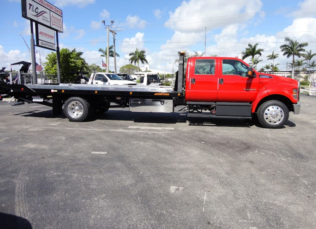 2018 Ford F650 CREW CAB..22FT XLP-6 JERRDAN ROLL-BACK SHARK.AIR RIDE. - 17637495 - 8