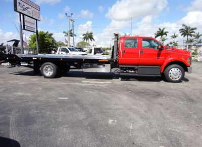 2018 Ford F650 CREW CAB..22FT XLP-6 JERRDAN ROLL-BACK SHARK.AIR RIDE. - Click to see full-size photo viewer