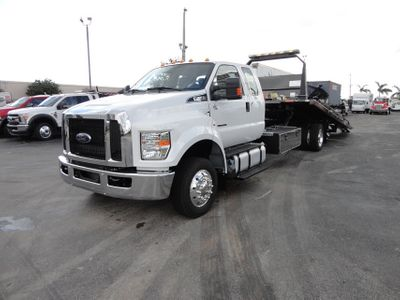 2018 Ford F650 SUPER CAB..22FT XLP-6 (LCG) JERRDAN ROLL-BACK.AIR RIDE. - Click to see full-size photo viewer