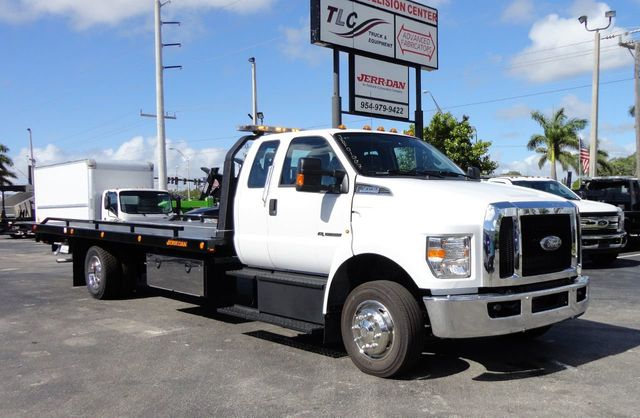 2018 Ford F650 SUPER CAB..22FT XLP-6 (LCG) JERRDAN ROLL-BACK.TOW TRUCK