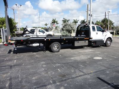 2018 Ford F650 SUPER CAB..22FT XLP-6 (LCG) JERRDAN ROLL-BACK.TOW TRUCK - Click to see full-size photo viewer