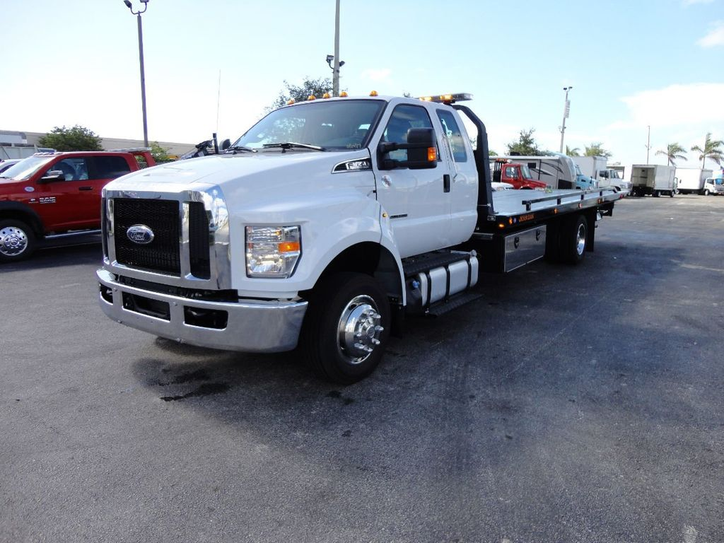 2018 Ford F650 SUPER CAB..22FT XLP-6 (LCG) JERRDAN ROLL-BACK.TOW TRUCK - 17644317 - 0