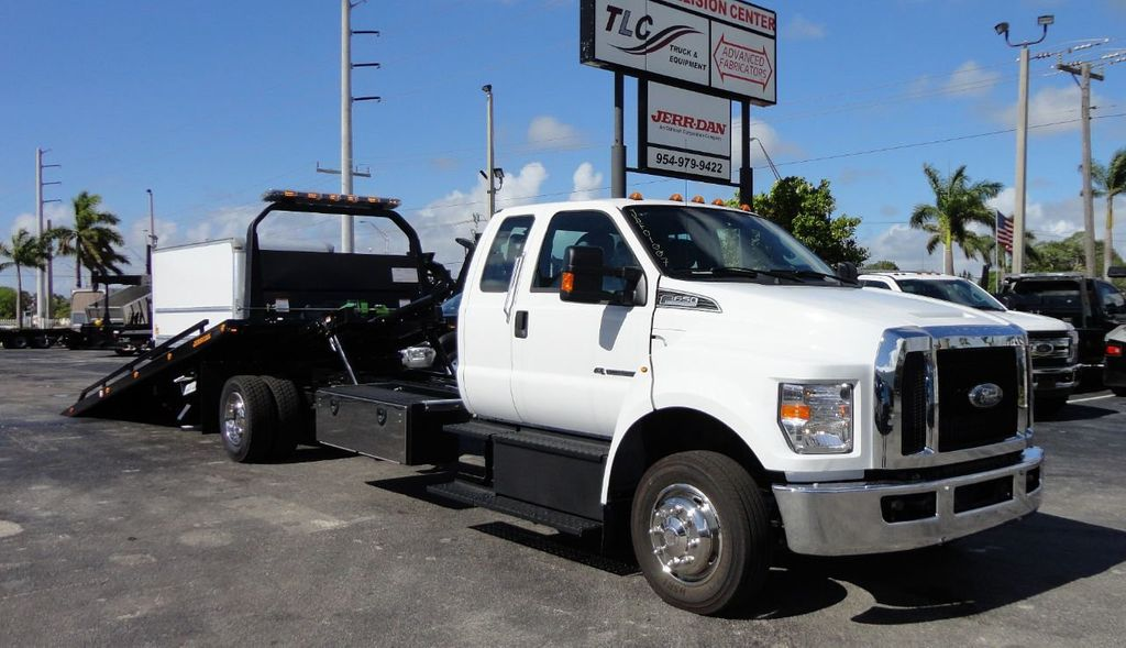 2018 Ford F650 SUPER CAB..22FT XLP-6 (LCG) JERRDAN ROLL-BACK.TOW TRUCK - 17644317 - 1