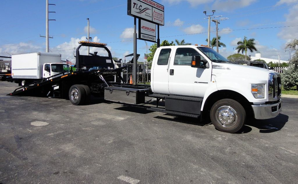 2018 Ford F650 SUPER CAB..22FT XLP-6 (LCG) JERRDAN ROLL-BACK.TOW TRUCK - 17644317 - 2