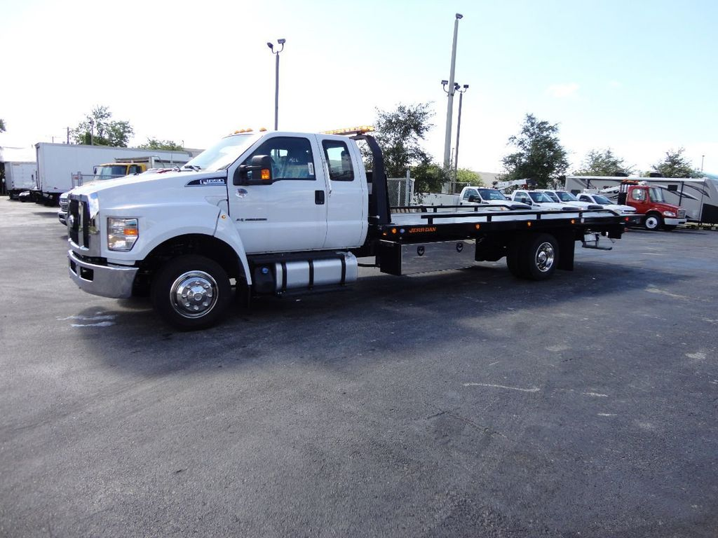 2018 Ford F650 SUPER CAB..22FT XLP-6 (LCG) JERRDAN ROLL-BACK.TOW TRUCK - 17644317 - 30