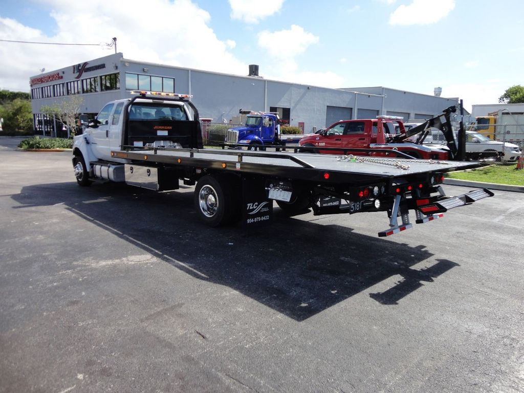 2018 Ford F650 SUPER CAB..22FT XLP-6 (LCG) JERRDAN ROLL-BACK.TOW TRUCK - 17644317 - 32