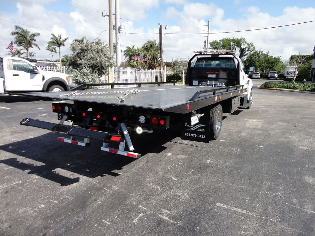 2018 Ford F650 SUPER CAB..22FT XLP-6 (LCG) JERRDAN ROLL-BACK.TOW TRUCK - 17644317 - 34