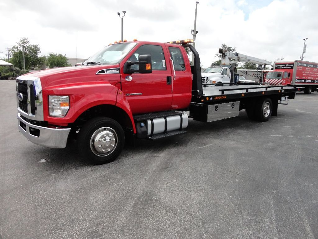 2018 Ford F650 SUPER CAB..22FT XLP-6 (LCG) JERRDAN ROLL-BACK.TOW TRUCK - 17685407 - 0