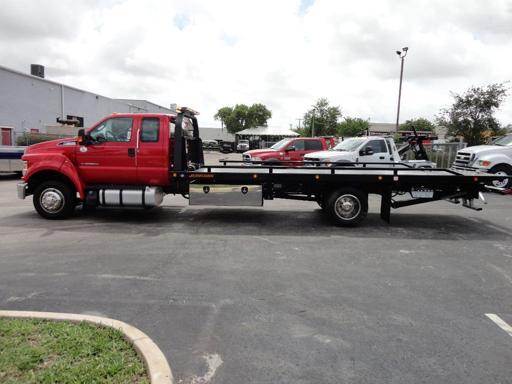 2018 Ford F650 SUPER CAB..22FT XLP-6 (LCG) JERRDAN ROLL-BACK.TOW TRUCK - 17685407 - 9