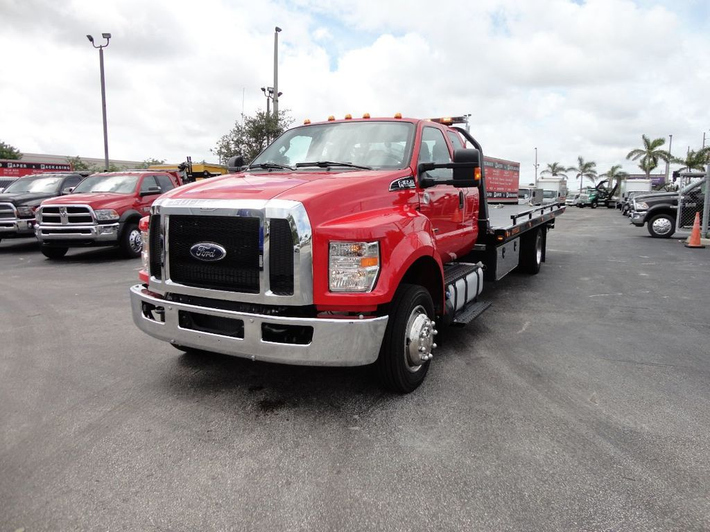 2018 Ford F650 SUPER CAB..22FT XLP-6 (LCG) JERRDAN ROLL-BACK.TOW TRUCK - 17685407 - 10