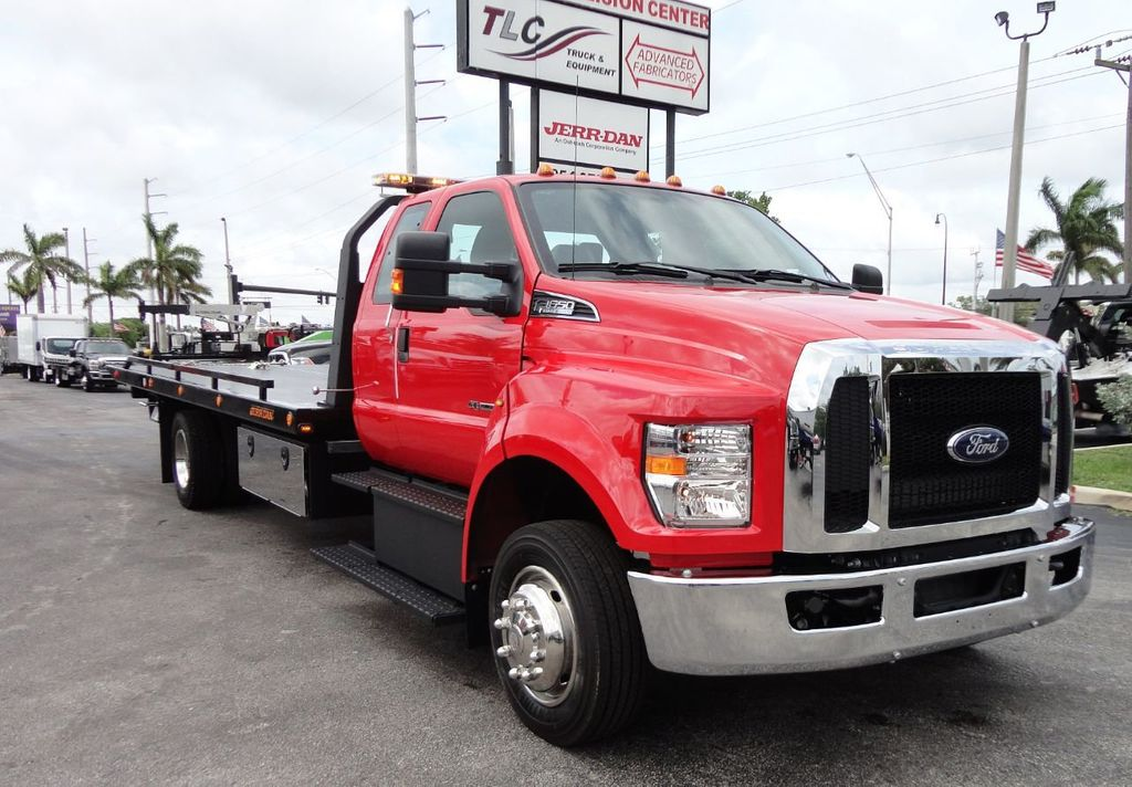 2018 Ford F650 SUPER CAB..22FT XLP-6 (LCG) JERRDAN ROLL-BACK.TOW TRUCK - 17685407 - 1