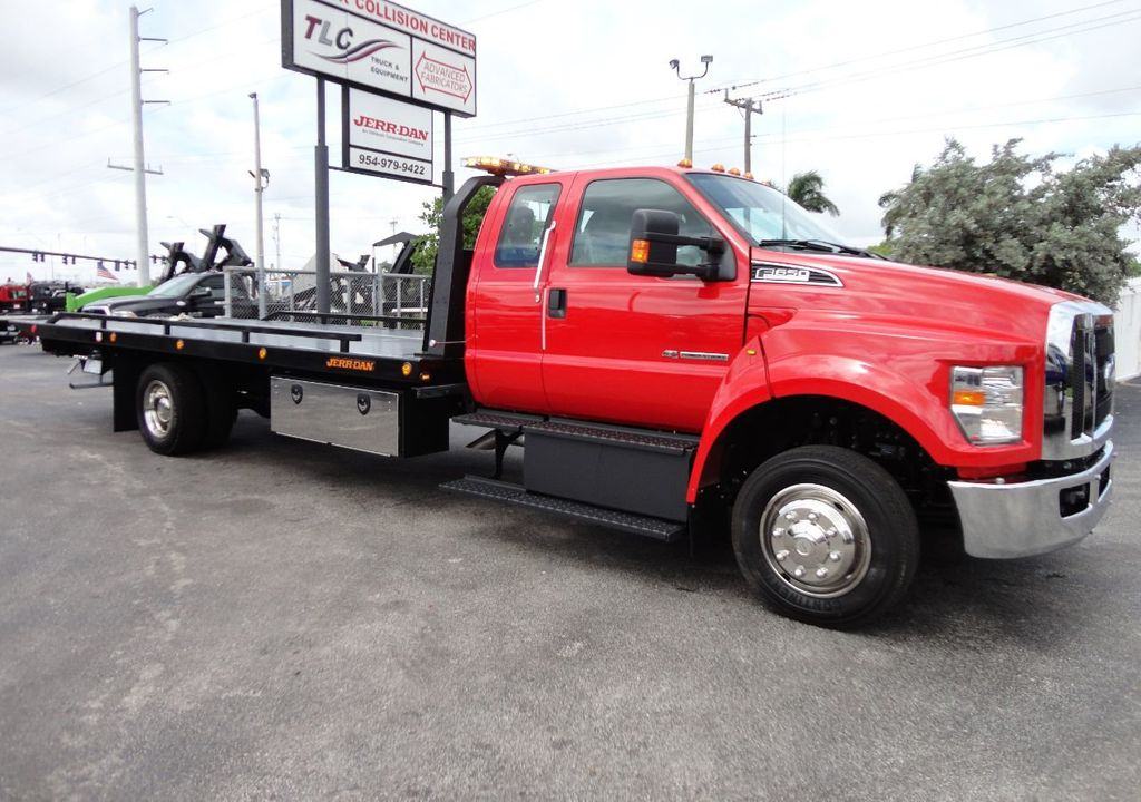 2018 Ford F650 SUPER CAB..22FT XLP-6 (LCG) JERRDAN ROLL-BACK.TOW TRUCK - 17685407 - 2