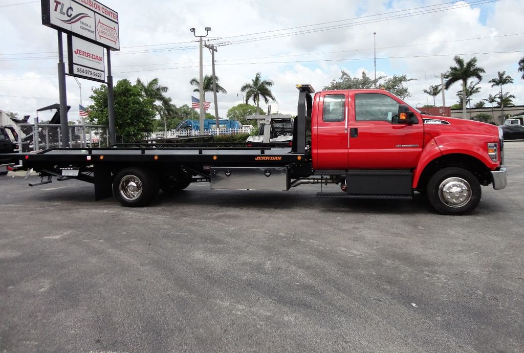 2018 Ford F650 SUPER CAB..22FT XLP-6 (LCG) JERRDAN ROLL-BACK.TOW TRUCK - 17685407 - 3